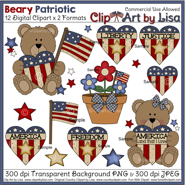 Clip Art by Lisa Commercial Use Digital Graphics and Clipart for High  Resolution Printing