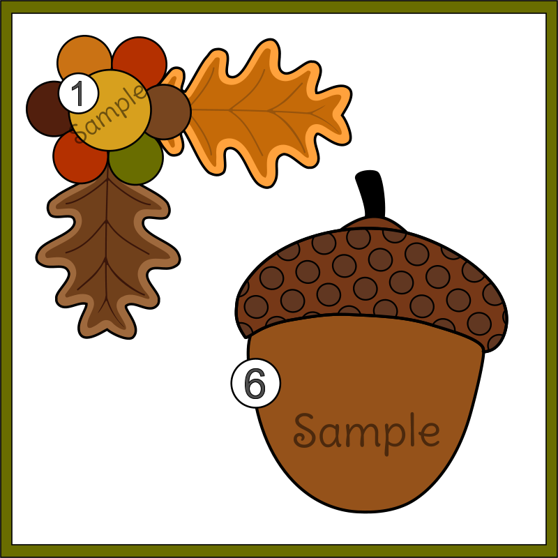 Happy Fall Y'all Fall and Autumn Clipart Set